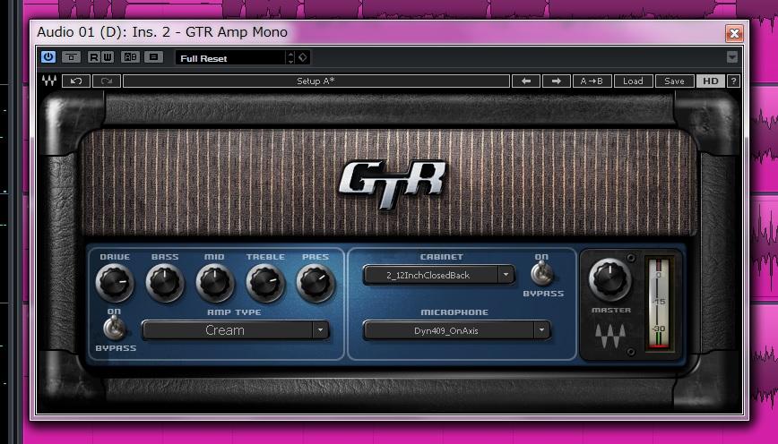 【waves】GTR3を使ってポストロックの音を作るレビュー