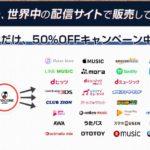 tunecore japanで配信手数料50%オフのキャンペーンやってるよ!