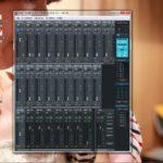 ゴリラのUCX日記② ~~Total mixのミキサー画面表示を見やすくする方法~~