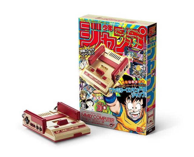 【ニンテンドークラシックミニ】ジャンプ50周年版のミニファミコン発売!!